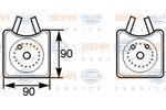 Chłodnica oleju silnikowego BEHR HELLA SERVICE 8MO 376 778-001 BEHR HELLA SERVICE 8MO376778-001