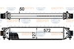 Chłodnica powietrza doładowującego - intercooler BEHR HELLA SERVICE 8ML 376 899-131 BEHR HELLA SERVICE 8ML376899-131