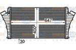 Chłodnica powietrza doładowującego - intercooler BEHR HELLA SERVICE 8ML 376 899-171 BEHR HELLA SERVICE 8ML376899-171