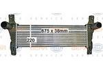 Chłodnica powietrza doładowującego - intercooler BEHR HELLA SERVICE 8ML 376 900-601 BEHR HELLA SERVICE 8ML376900-601