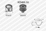 Rozrząd - zestaw paska SNR  KD453.10
