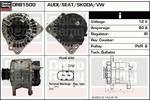 Alternator DELCO REMY DRB1500N