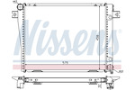 Chłodnica wody NISSENS  60602A