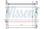 Chłodnica wody NISSENS  61014A