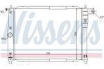 Chłodnica wody NISSENS  61644