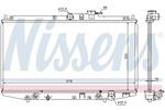Chłodnica wody NISSENS  68117