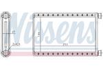 Nagrzewnica ogrzewania kabiny NISSENS  70523