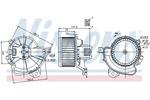 Silnik elektryczny, dmuchawa wewnętrzna NISSENS 87086