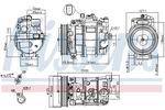 Kompresor klimatyzacji NISSENS 890191 NISSENS 890191