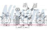 Kompresor klimatyzacji NISSENS 890235 NISSENS 890235