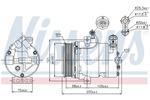 Kompresor klimatyzacji NISSENS 89024 NISSENS 89024