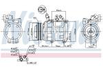 Kompresor klimatyzacji NISSENS  890282