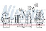 Kompresor klimatyzacji NISSENS 89037 NISSENS 89037