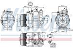 Kompresor klimatyzacji NISSENS 89039 NISSENS 89039