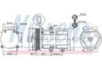 Kompresor klimatyzacji NISSENS 89068 NISSENS 89068