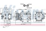 Kompresor klimatyzacji NISSENS 89239