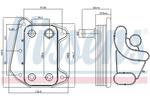 Chłodnica oleju silnikowego NISSENS 90622 NISSENS 90622