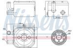 Chłodnica oleju silnikowego NISSENS 90654 NISSENS 90654