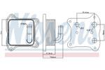 Chłodnica oleju silnikowego NISSENS 90680 NISSENS 90680