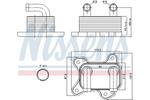 Chłodnica oleju silnikowego NISSENS  90682