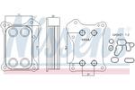 Chłodnica oleju silnikowego NISSENS 90739 NISSENS 90739