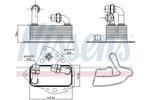 Chłodnica oleju silnikowego NISSENS 90803 NISSENS 90803