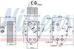 Chłodnica oleju silnikowego NISSENS 90805 NISSENS 90805