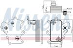 Chłodnica oleju silnikowego NISSENS 90885 NISSENS 90885