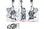 Chłodnica oleju silnikowego NISSENS 90928 NISSENS 90928