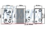 Chłodnica oleju, manualna skrzynia biegów NISSENS  90934