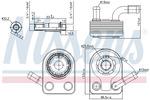 Chłodnica oleju silnikowego NISSENS  90972