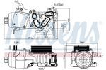 Chłodnica oleju silnikowego NISSENS 91124 NISSENS 91124