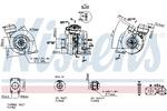 Turbosprężarka NISSENS  93175