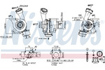 Turbosprężarka NISSENS  93244