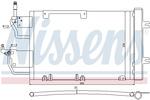 Chłodnica klimatyzacji - skraplacz<br>NISSENS<br>94005[...]