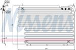 Chłodnica klimatyzacji - skraplacz NISSENS  94216