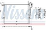 Chłodnica klimatyzacji - skraplacz NISSENS  94431