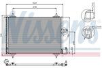 Chłodnica klimatyzacji - skraplacz NISSENS 94542