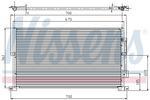 Chłodnica klimatyzacji - skraplacz NISSENS 94585 NISSENS 94585