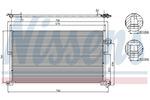 Chłodnica klimatyzacji - skraplacz NISSENS 94586 NISSENS 94586