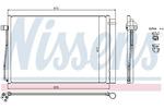 Chłodnica klimatyzacji - skraplacz NISSENS 94679 NISSENS 94679
