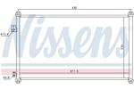 Chłodnica klimatyzacji - skraplacz<br>NISSENS<br>94733