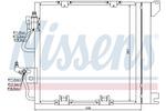 Chłodnica klimatyzacji - skraplacz<br>NISSENS<br>94768