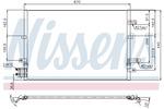 Chłodnica klimatyzacji - skraplacz NISSENS 94777 NISSENS 94777
