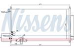 Chłodnica klimatyzacji - skraplacz NISSENS 94788