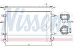 Chłodnica klimatyzacji - skraplacz NISSENS 94851 NISSENS 94851