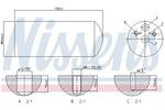 Osuszacz klimatyzacji NISSENS 95172