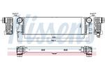 Chłodnica powietrza doładowującego - intercooler NISSENS 96017 NISSENS 96017