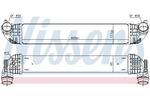 Chłodnica powietrza doładowującego - intercooler NISSENS 96139 NISSENS 96139
