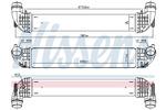 Chłodnica powietrza doładowującego - intercooler NISSENS 96140 NISSENS 96140